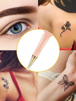 Natural Permanent Print Tattoo eyebrow eyeliner Painless Removal Cream