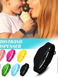 R25 Wristband Hand Sanitizer Dispenser Portable Bracelet Easy to Clean Hands