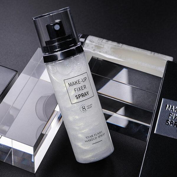 24 hours long lasting Velvet Makeup Setting fix face Spray