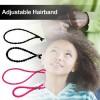 Adjustable Length Hairband Ties For women