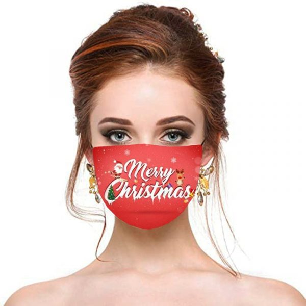 Christmas Decorated Masks