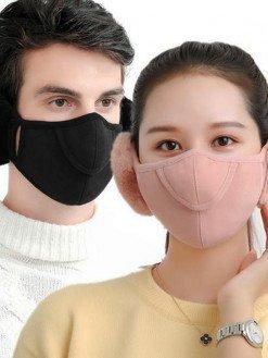 Outdoor Winter Warm Cotton Earmuffs Mask