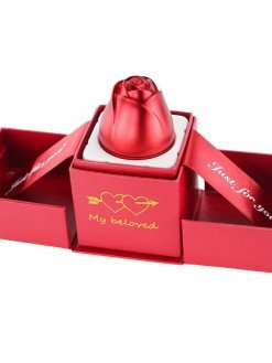 Creative Valentines day Engagement Wedding Rose Ring Boxes