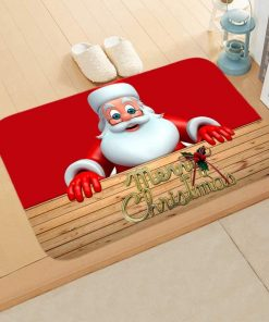 Merry Christmas Outdoor Carpet DoorMat