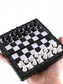 Mini Chess Folding Plastic Magnetic chessBoard Set