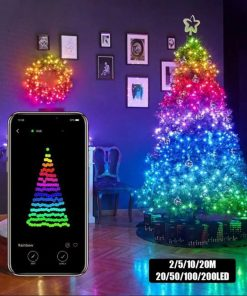 Smart Christmas TreeDecorBluetooth Led String Lights