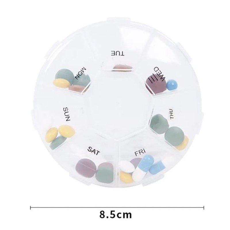 7 Grids Pill Box