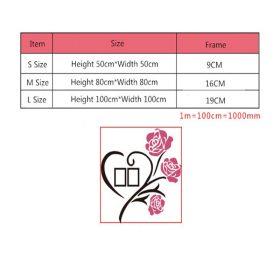 Multi-Pieces Rose Flower Pattern