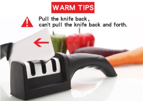 3 Stages Knife Sharpener
