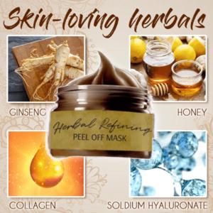 Pro-Herbal Refining Peel-Off Blackheads Removing Facial Mask