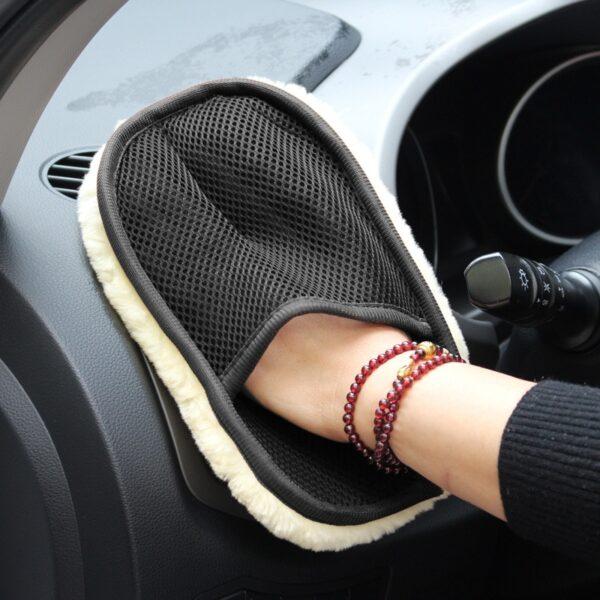 Car Washing Cleaning Brush Gloves