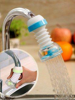 Nozzle Faucet Connector Extender Water