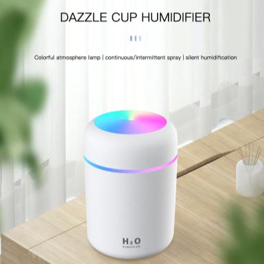Colorful Ultrasonic Air Humidifier h2O