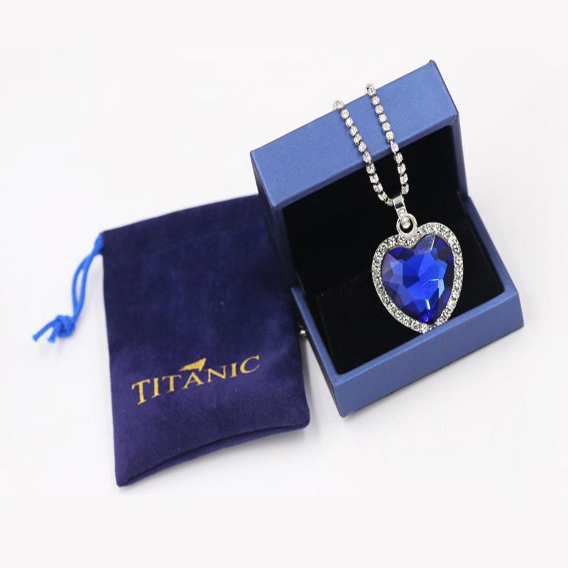 Titanic Heart of Ocean Necklace