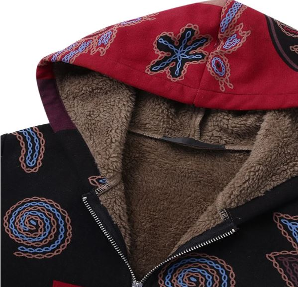 Warm Fluffy Coat