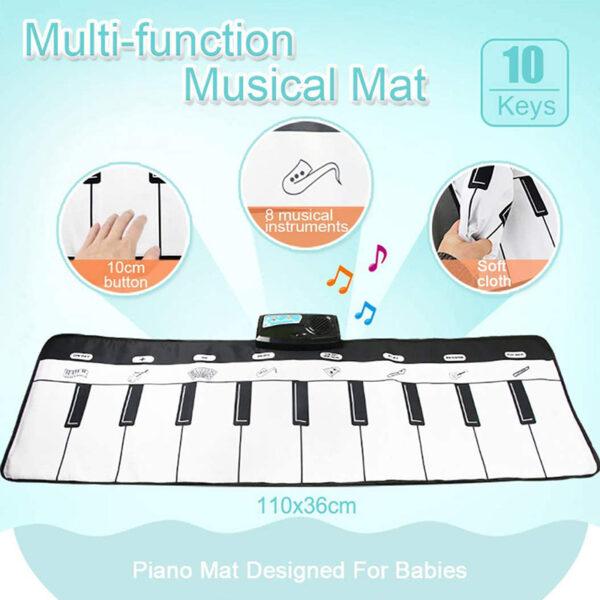 Kids Electronic Piano Mat