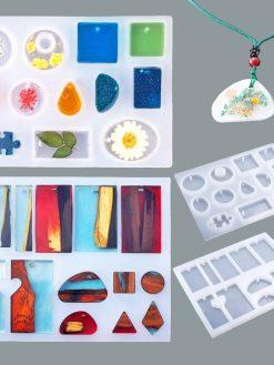 83Pcs DIY Silicone Molds
