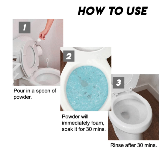 All-round Fast Foaming Toilet Cleaner