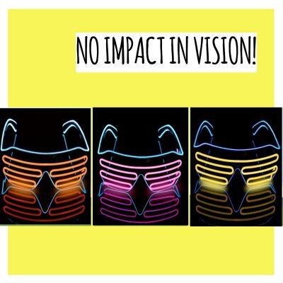 Light Up LED Glasses