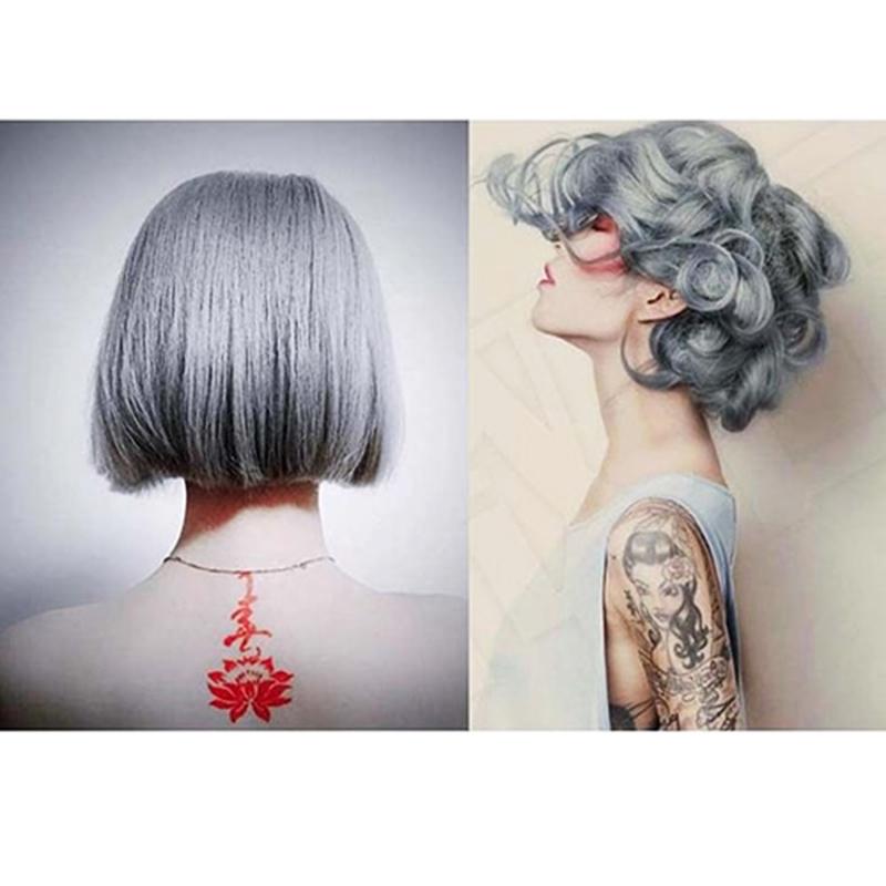 Silver Hair Dye Cream