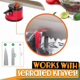 Suction Knife Sharpener