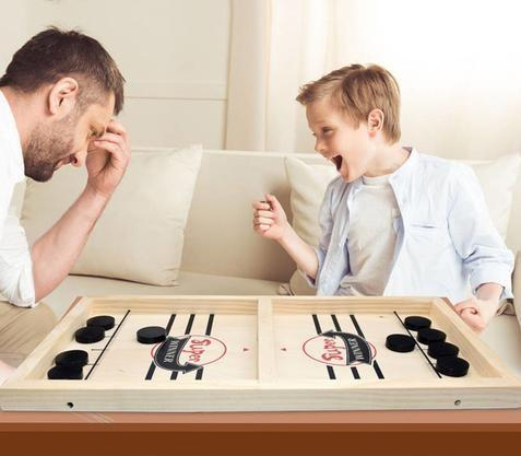 Sling Puck Table Hockey Game