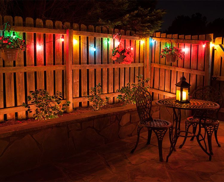 Outdoor Multicolor Fairy Lights