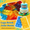 Lego Brick Jello Molds