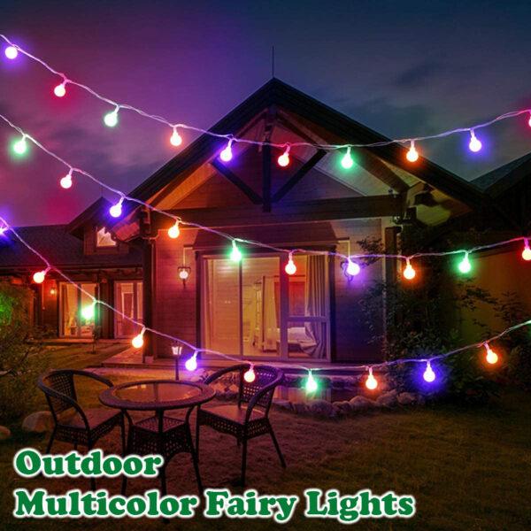 Outdoor Multicolor Fairy Lights