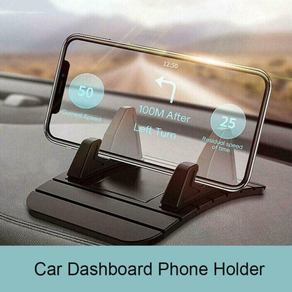 Car Dashboard Silicone Anti Slip Mat Pad Phone Holder