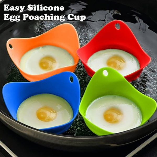 Easy Silicone Egg Poaching Cup