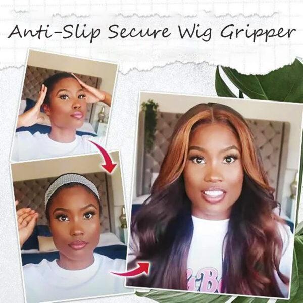 Anti-Slip Secure Wig Gripper