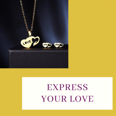 Steel Mama Love Necklace