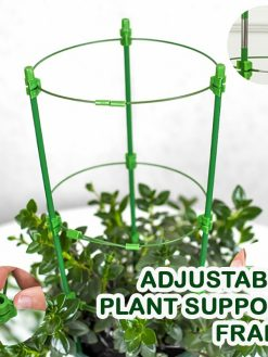 Adjustable Plant Support Frame