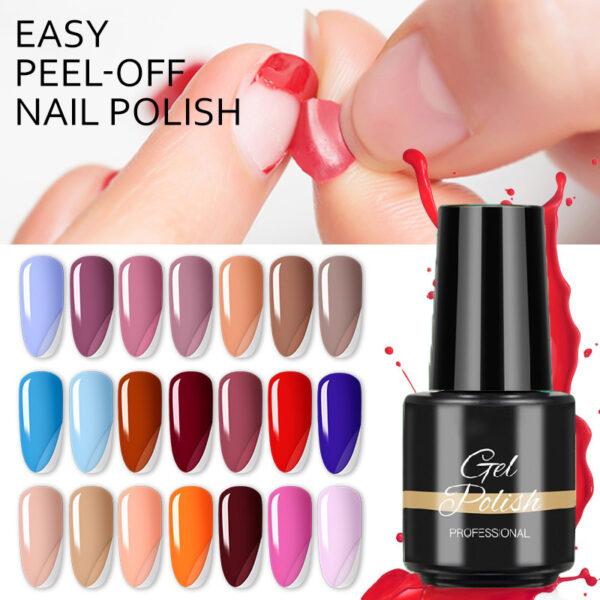 Easy Peel-Off Nail Polish