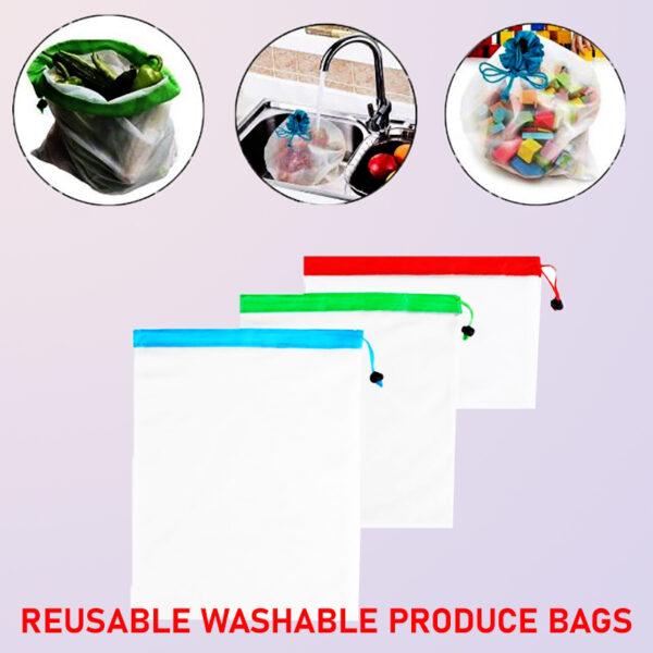 Reusable Washable Produce Bags