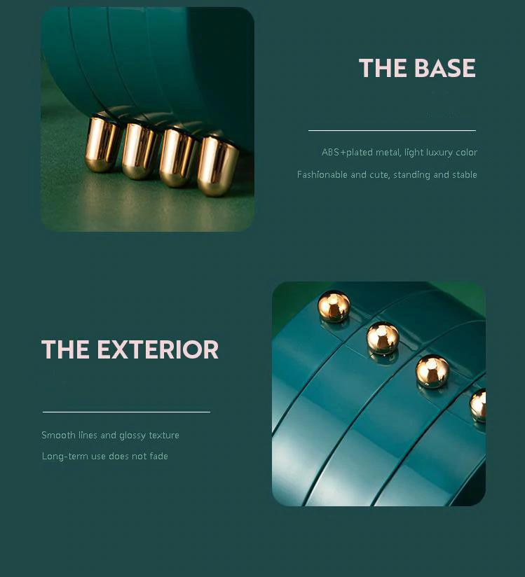 Luxury Foldable Display Jewelry Organizer