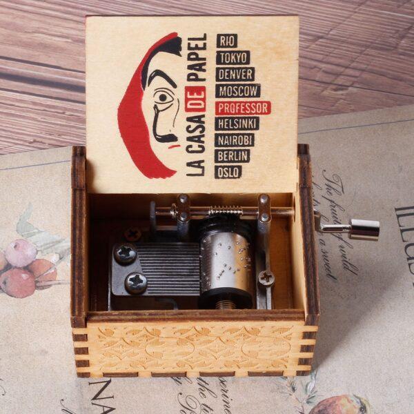 Bella Ciao La Casa De Papel Music Box