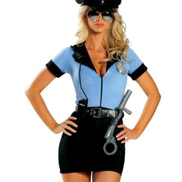 Sexy Halloween Police Uniform