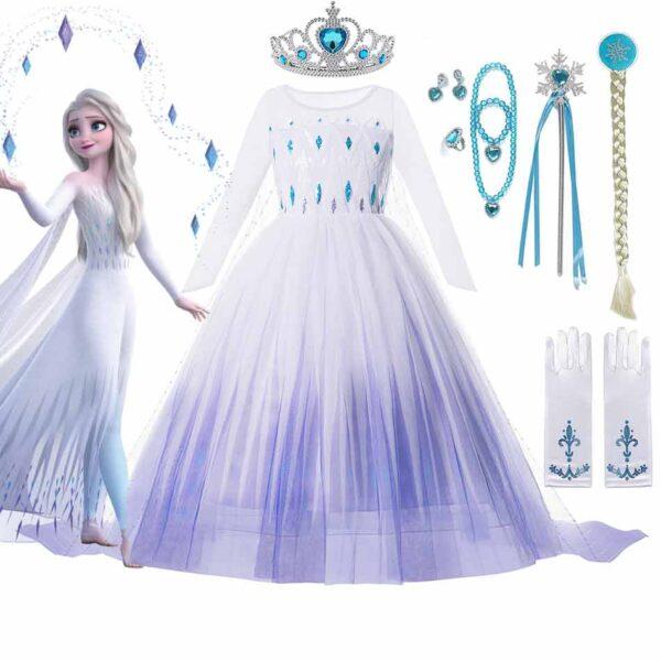 Disney Frozen Princess Elsa Costume