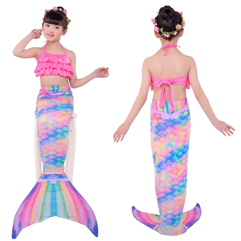 Halloween Kids Mermaid Tails