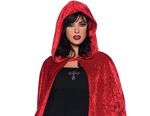 Halloween Medieval Witch Cape